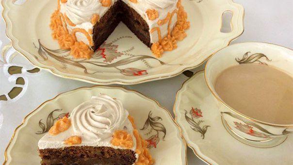 עונג כשר לפסח - עוגת קפה ואגוזי מלך