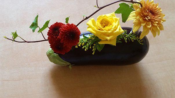 סידור פרחים לא שגרתי - לקראת  חג שבועות
