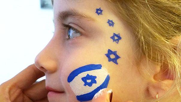 איפור ליום העצמאות - הדרכה מצולמת