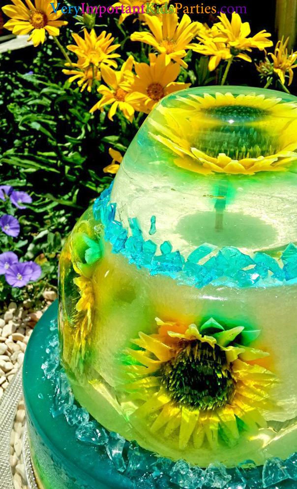 לשבור את הקרח בקיץ - עוגת ג'לטין