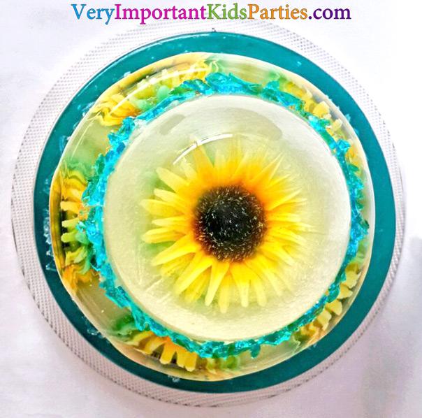 לשבור את הקרח בקיץ - עוגת ג'לטין מבט על