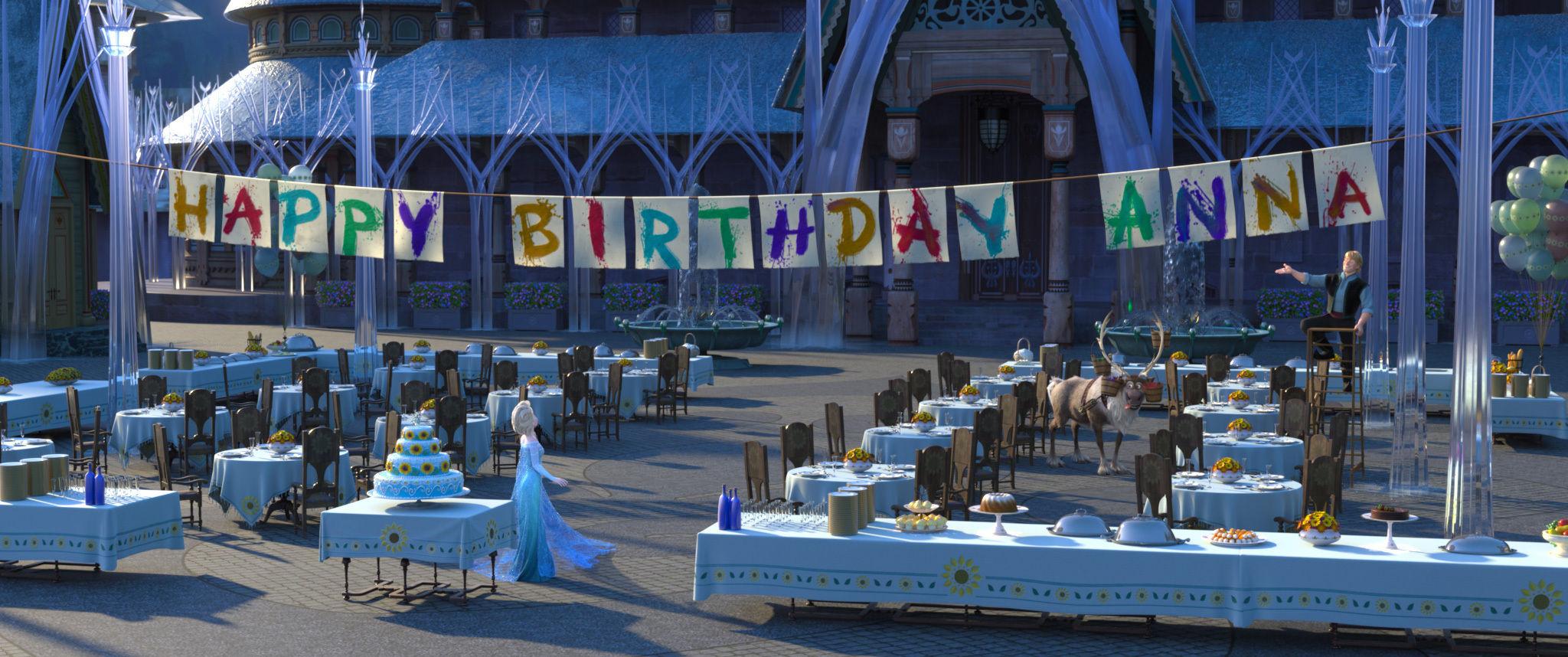 מסיבת יום הולדת לאנה - קדחת הקרח