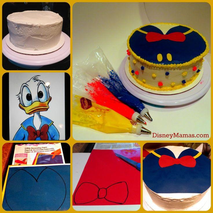Donald cake DIY