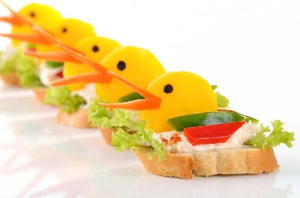 חוגגים עם דונאלד דאק - כריכונים בצורת ברווזים