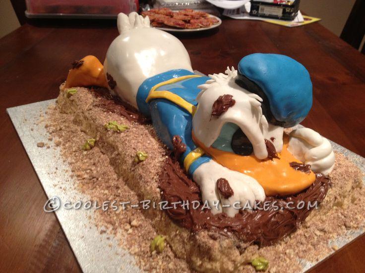 עוגת דונאלד דאק