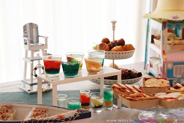 מסיבת קיץ - שולחן מעוצב