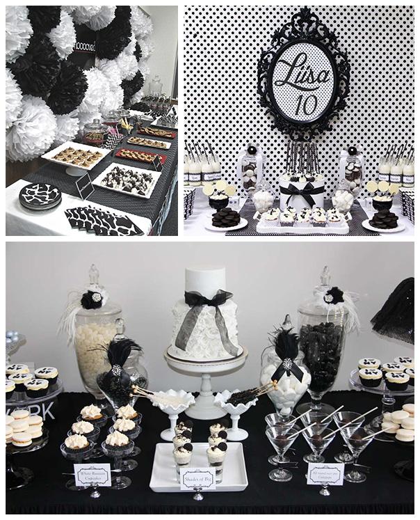 שחור ולבן - עיצוב לא שגרתי לשולחן