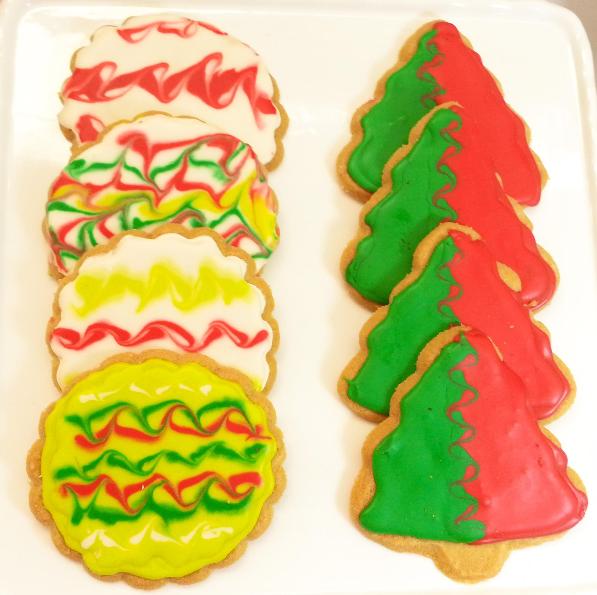 עוגיות סוכר לכריסמס