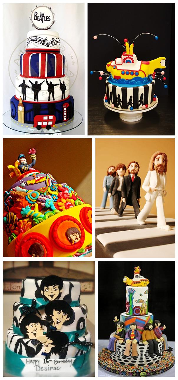 חגיגה של שלום ואהבה - עוגות בהשראת החיפושיות