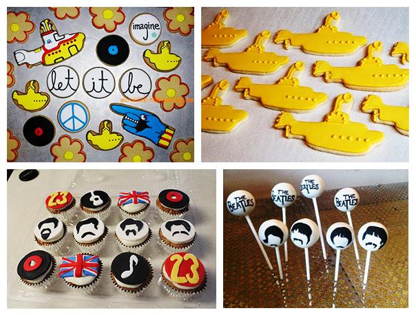 חגיגה של שלום ואהבה - עוגיות וקאפקייקים מעוצבים