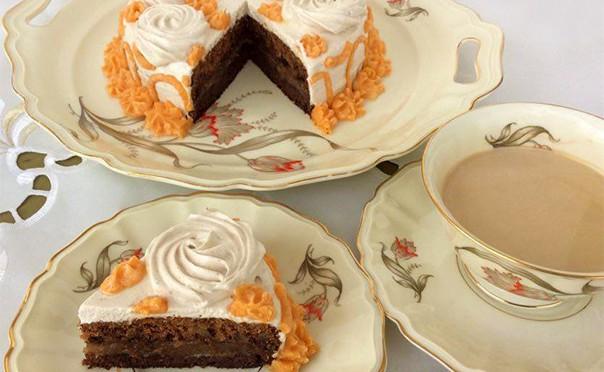 עונג כשר לפסח – עוגת קפה ואגוזי מלך