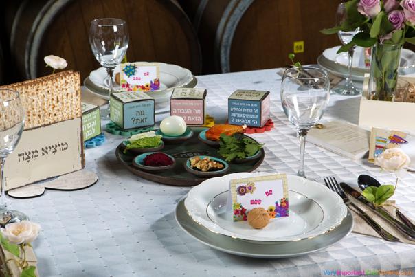 שולחן חג עם ערך מוסף