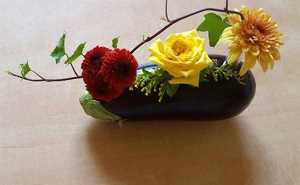 סידור פרחים לא שגרתי – לקראת  חג שבועות