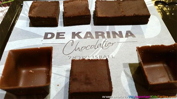 סדנת שוקולד בדה קרינה