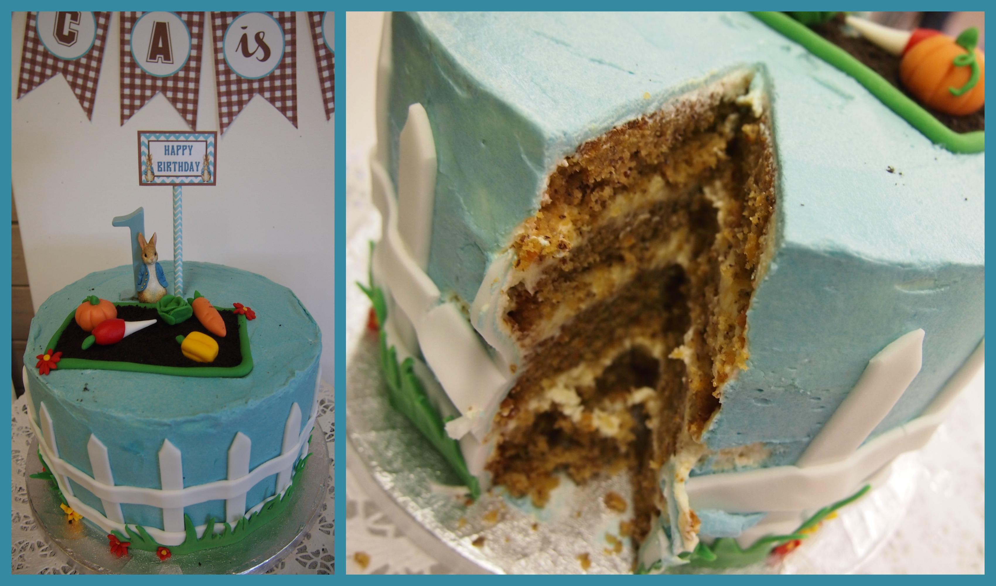 עוגה מעוצבת - פיטר הארנב וחבריו