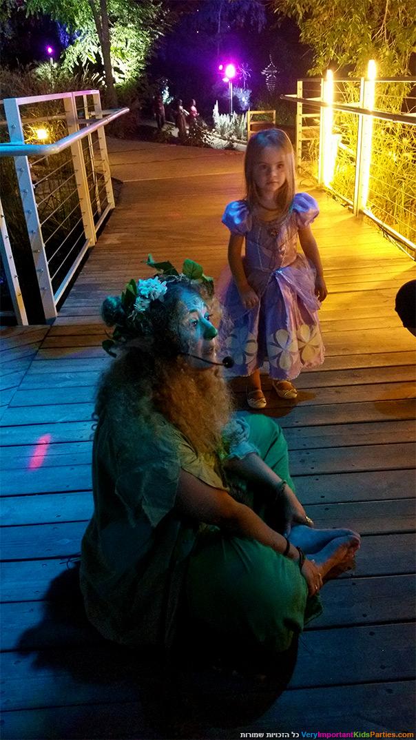 לילה מהאגדות - שדונית ירוקה