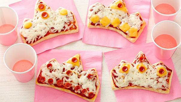 יום מלכותי - פיצה בצורת כתר