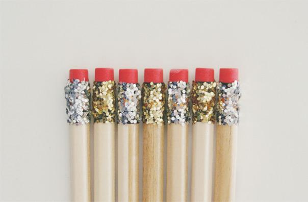 עפרונות נצנצים