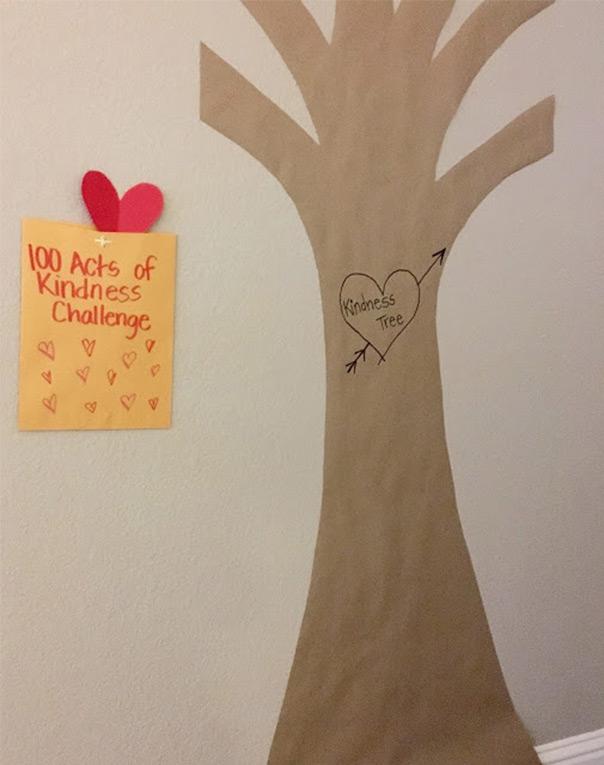 מכל הלב - עץ האדיבות