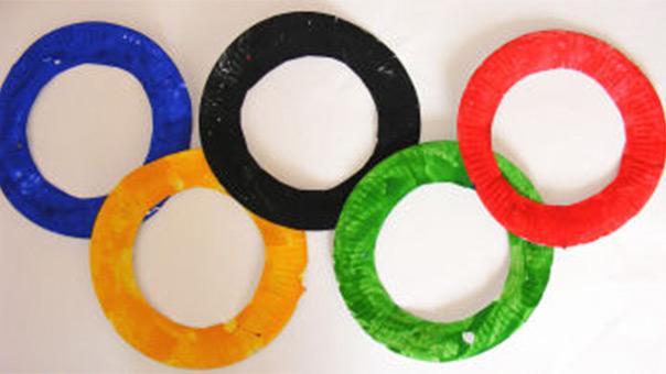 ריו 2016 - יצירת הטבעות האולימפיות מצלחות נייר
