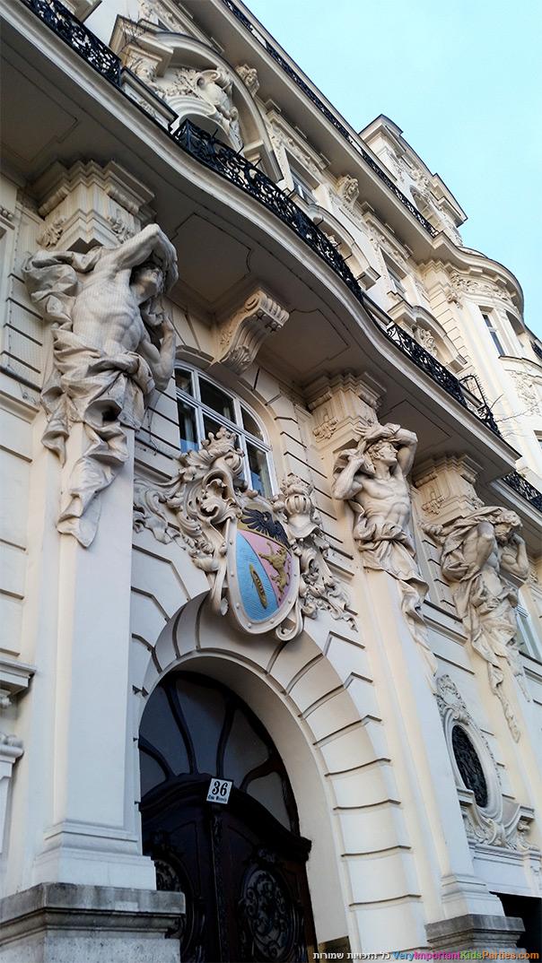 וינה עם ילדים - ארכיטקטורה אירופאית קלאסית