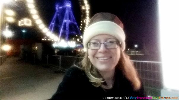 וינה עם ילדים - הגלגל הענק בפארק פראטר