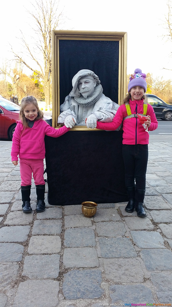 וינה בחורף - פסלים חיים 1