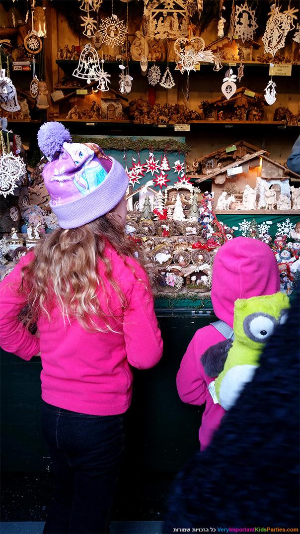 וינה בחורף - בשוק הכריסמס בארמון שנברון