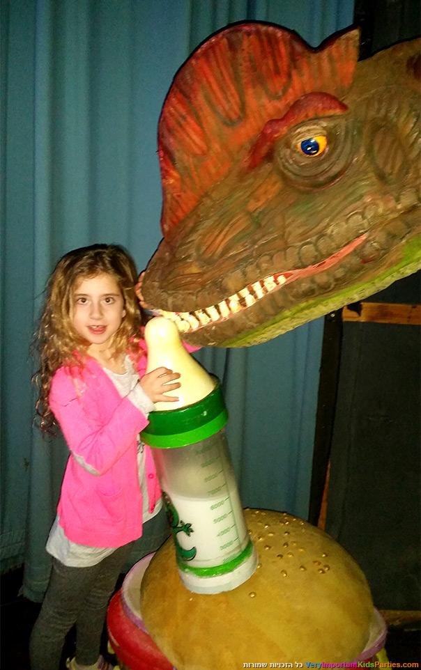 קרקס הדינוזאורים - מאחורי הקלעים 1