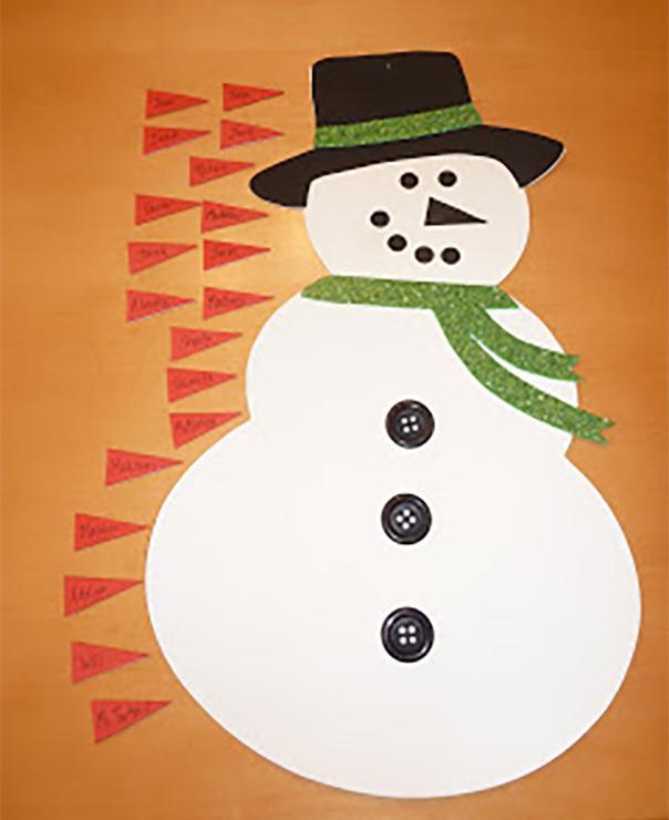 רוצה לבנות איש שלג? להצמיד את האף