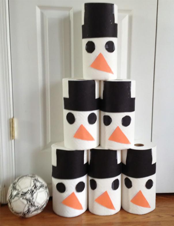 רוצה לבנות איש שלג? - באולינג