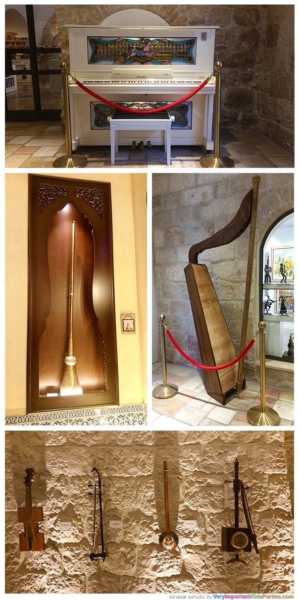 כל טוב הארץ - כלי נגינה במוזיאון המוזיקה