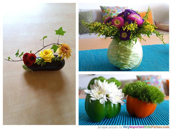 לקט שבועות - הדרכות לסידורי פרחים