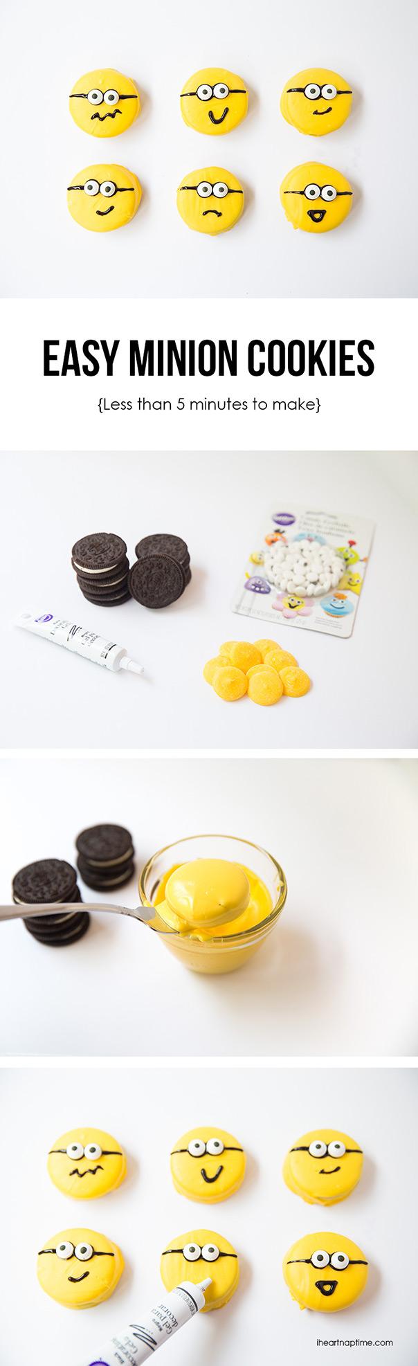 עוגיות אוריאו המיניונים
