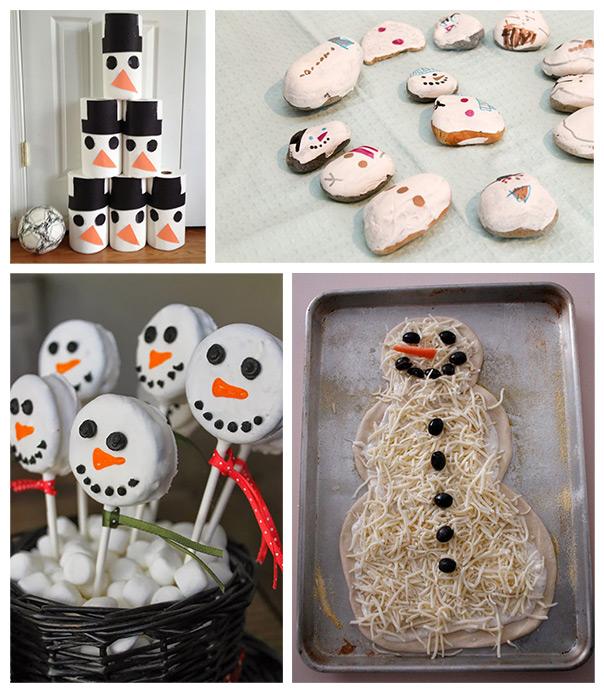 הקייטנה הביתית - רוצה לבנות איש שלג?