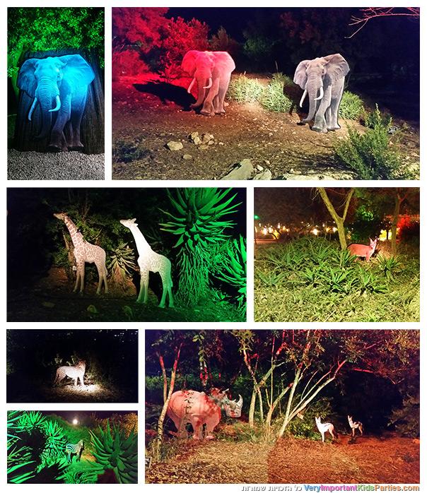 לילות אפריקה - ספארי בגן הבוטני