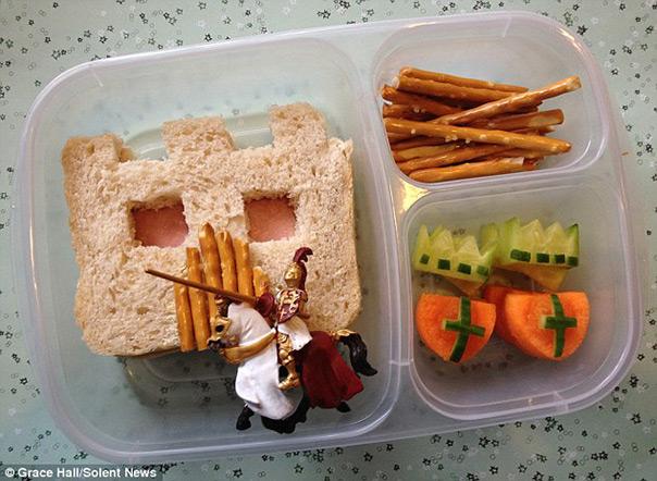 אבירים - קופסאת אוכל