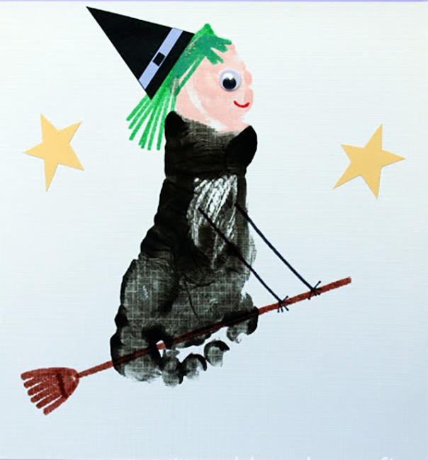 המכשפות - מכשפה מטביעת רגל