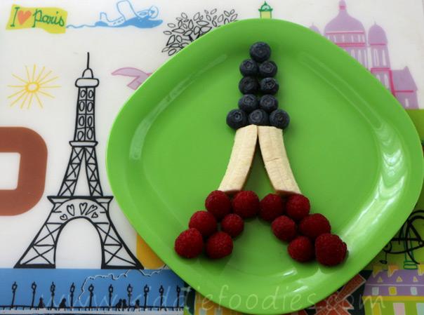 חגיגה צרפיתית - מגדל אייפל אכיל