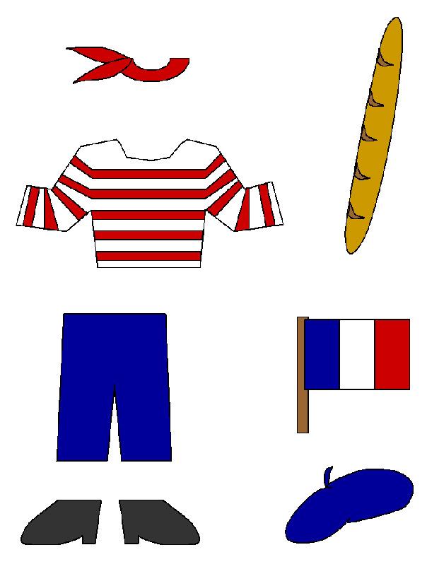 חגיגה צרפתית - דגם לגזירה