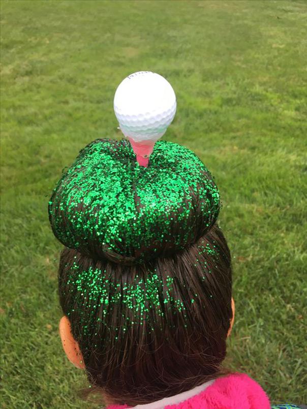 תסרוקות משוגעות - גולף