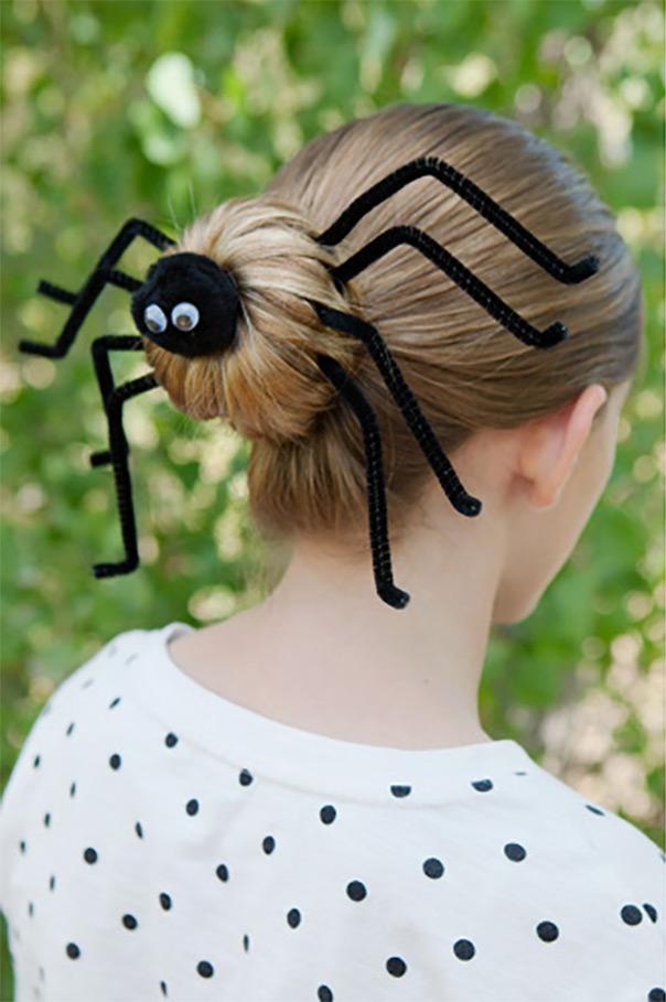 תסרוקות משוגעות - עכביש