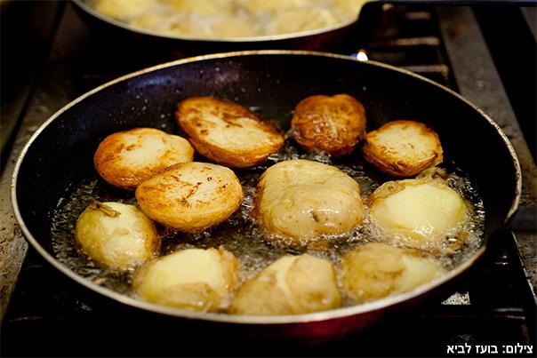 ארוחה ישראלית - תפוח אדמה בטעם של פעם