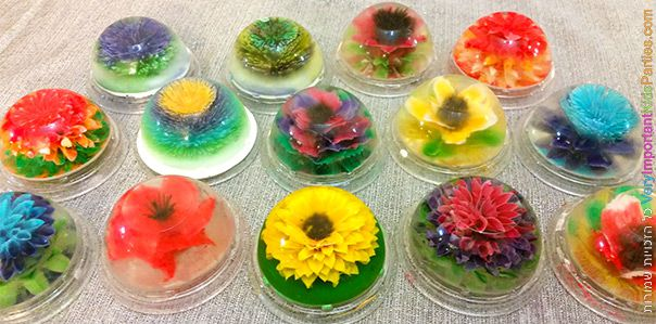 פרחים מג'לטין - רשמים מסדנא מפתיעה במיוחד