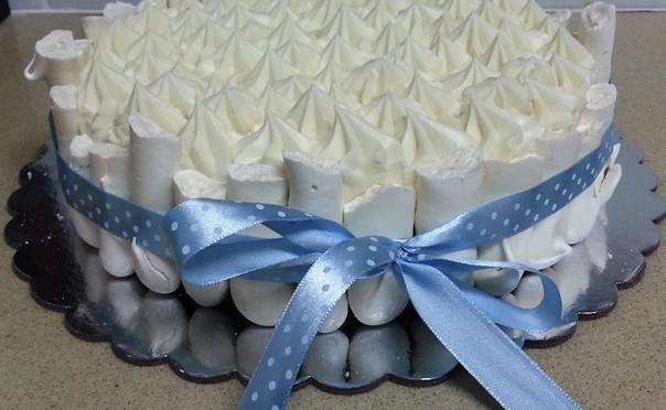 עוגת קונקורד שוקולד לבן כשרה לפסח