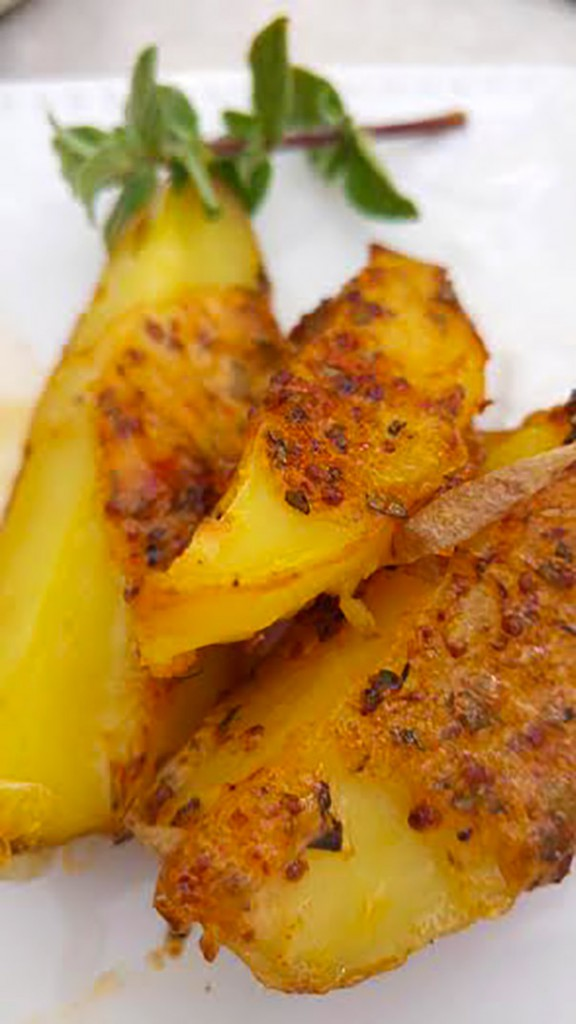 פסח כשר וטעים - תפוחי אדמה אדומים באיולי צי'לי
