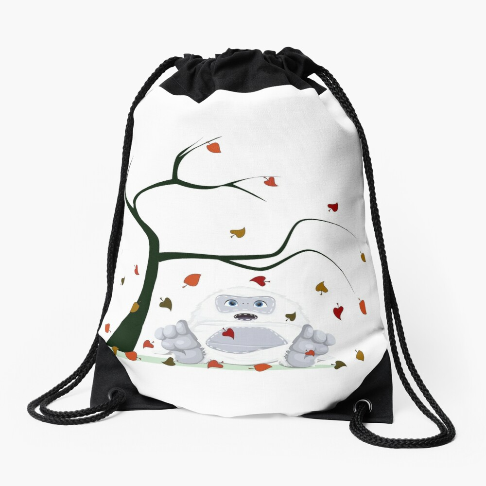 Abominable - Little Yeti In Fall - Drawstring Bag