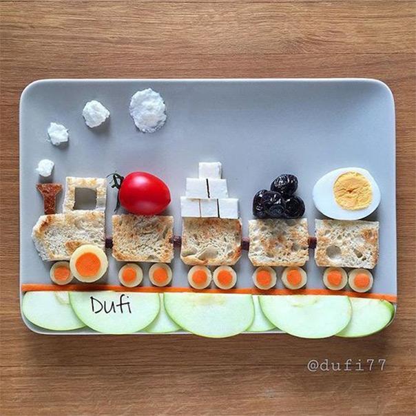 רכבת לארוחת בוקר או ערב